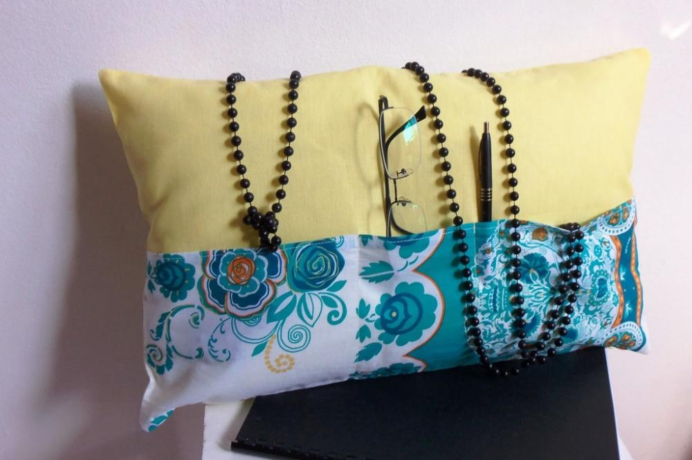 Yellow Decorative Cover For Pillows